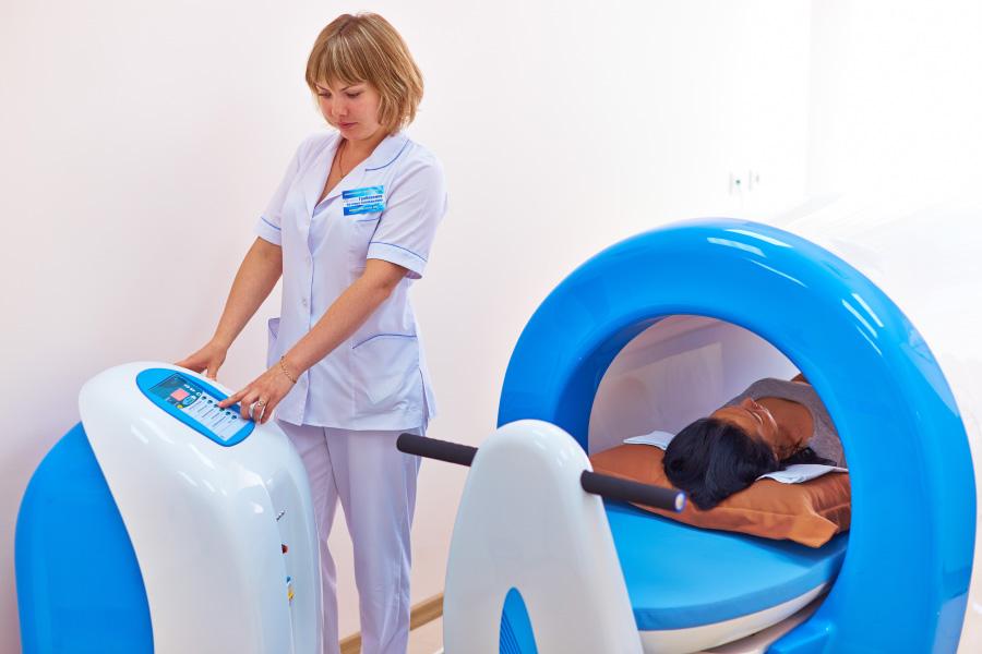 Магнитно лазерная терапия на низ живота