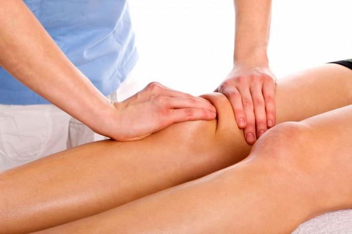массаж после травмы коленного сустава