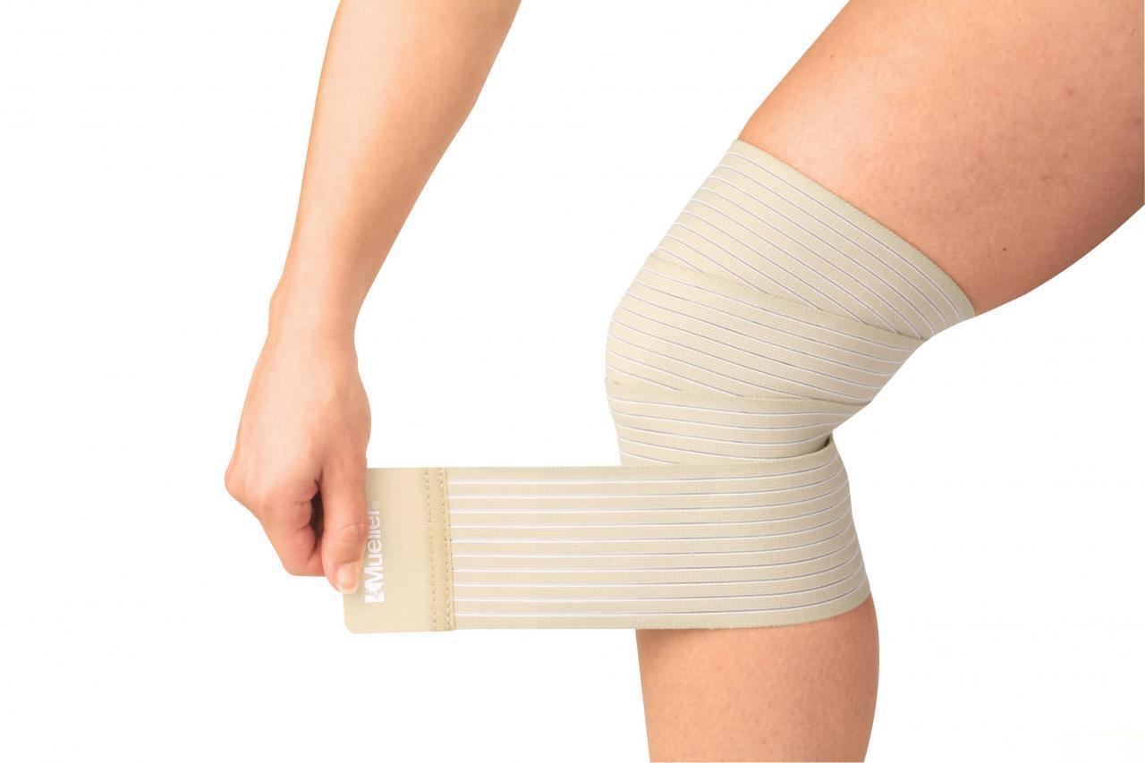 Как правильно наложить эластичный бинт на коленный сустав лечение суставов по аюрвед