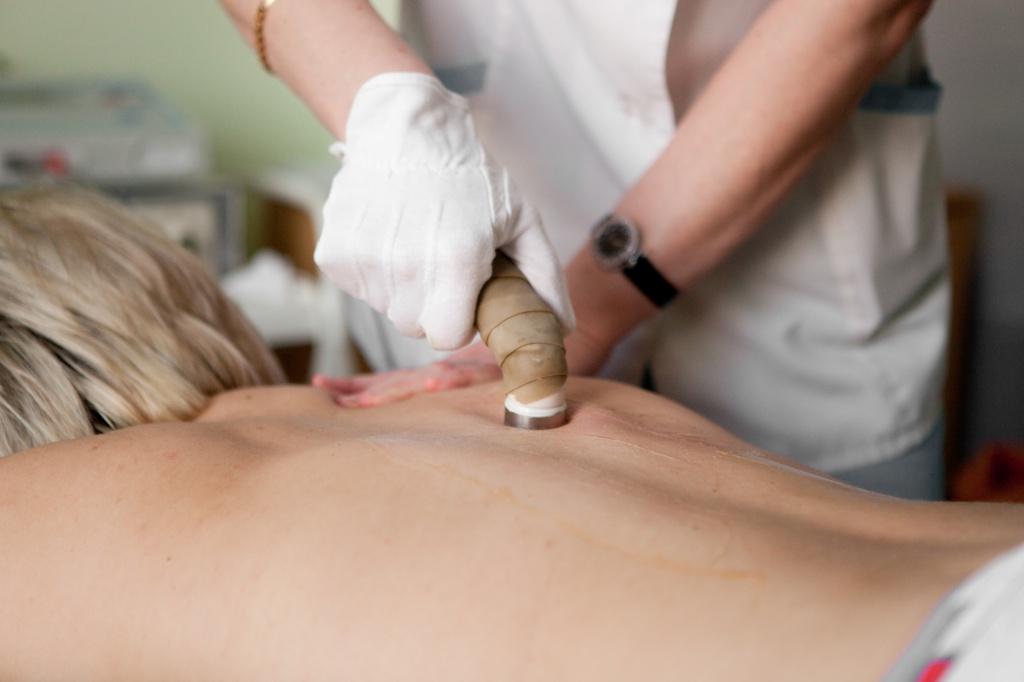 Ультразвуковой прибор для лечения грыжи позвоночника