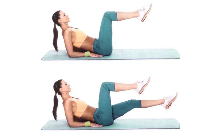 Упражнение ножницы для беременных 54