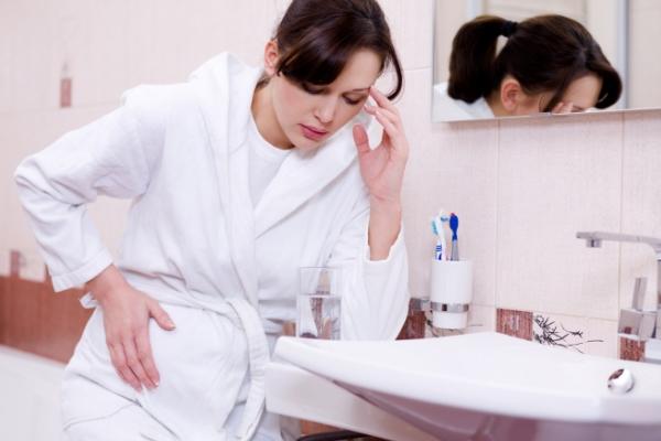 Утренняя тошнота впроцессе беременности уменьшает риск выкидыша