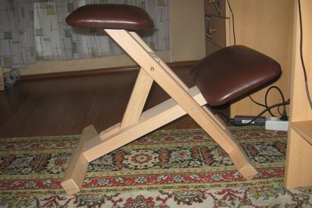 Видео как сделать стул