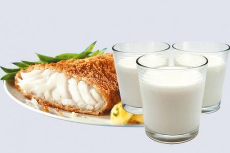 Молоко и рыба