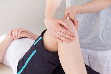 Исследование колена