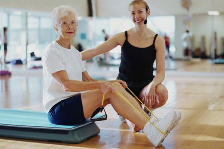 Упражнения при остеопорозе