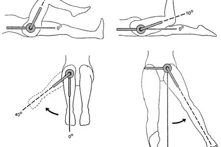 движение ноги