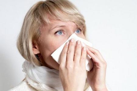 женщина, простуда