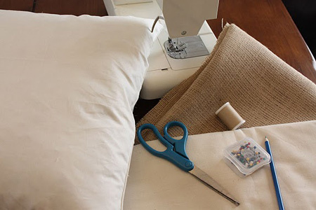 Сшить подушку