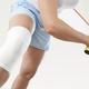 колено в повязке