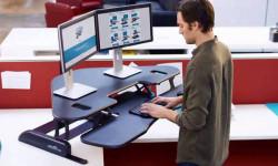 Стоячая работа в офисе поможет похудеть