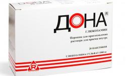 Дона: препарат для лечения суставов