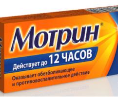 Мотрин® — новое лекарство от боли в теле