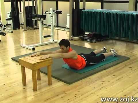Комплекс упражнений для позвоночника в домашних условиях