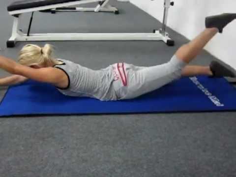 Тренировка мышц спины при сколиозе