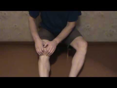 самомассаж коленного сустава (knee massage)