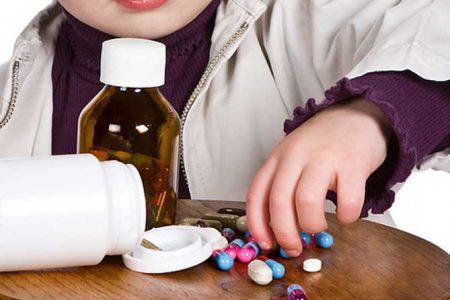 Ребенок и таблетки
