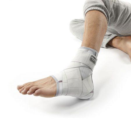 нога в повязке