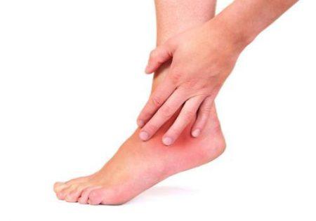 Боль в голеностопе