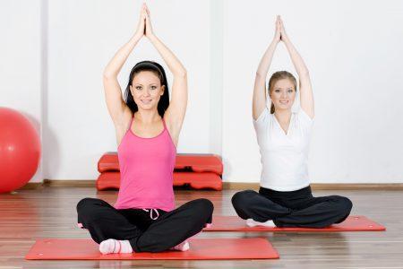 йога, женщины
