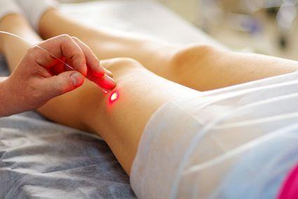 Лазерное лечение колена