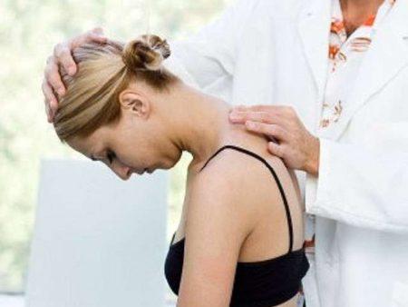 Упражнения для шейного отдела