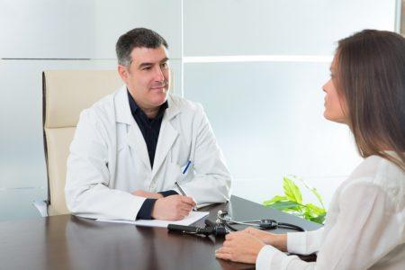 Пациент на приеме