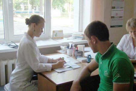 врач и пациент