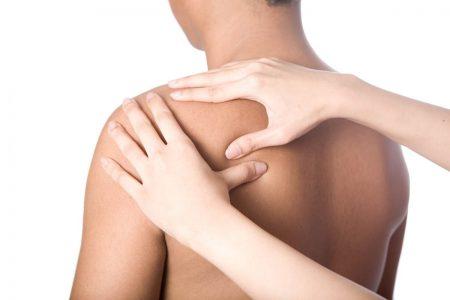 массаж плеча